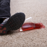 Carpet Juice Spill Carpet Protector