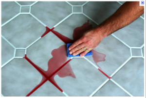 Grout Line Sealing