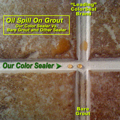 Grout Line Sealing And Grout Quot Color Sealing Quot Mighty